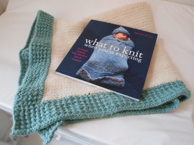 What to Knit When You're Expecting cashmere baby blanket